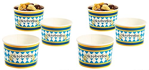 Fun Express Oktoberfest Snack Bowls, 25 Count