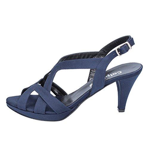 Calpierre Damen Sandalen Blau