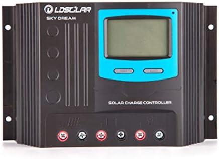 LCDディスプレイと12V充電コントローラSD2440S 40アンペアソーラーコントローラー
