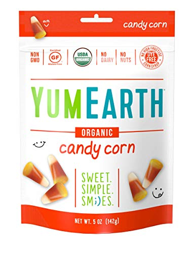 YumEarth Organic Gluten Free Candy Corn Stand Up Pouch, 12 Count -