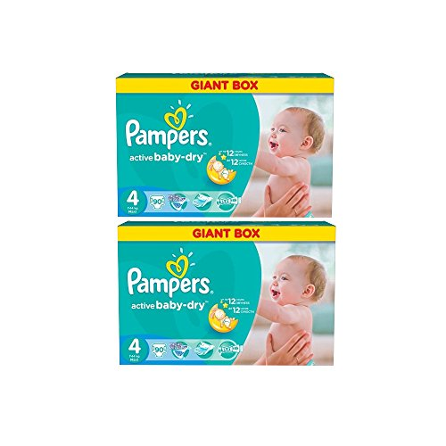 Pampers Windeln Active Baby Dry Maxi Gr.