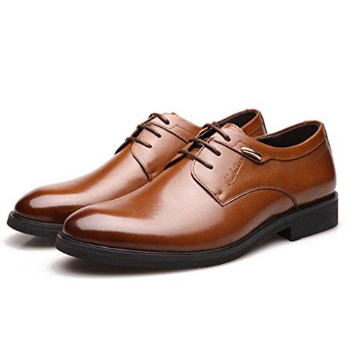 Brown Cuir Véritable Hommes Chaussures LEDLFIE Chaussures Véritable Cuir pour en en LEDLFIE CPxfgqwcH