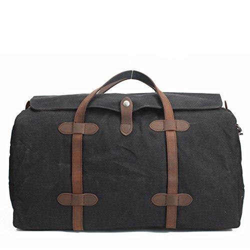 DJB/Canvas Taschen Frauen Handtaschen der Große Kapazität Wasserdicht Staubbeutel schwarz vqUNdpwB