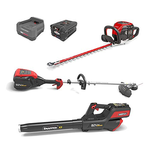 Snapper XD 82V MAX Electric Cordless Battery-Powered Total Yard Bundle, 1687886, SXDTYB