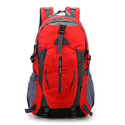 Pureed Reisen Freizeit Männer Sport Wasserdichte Stylisch Wandern Nner Mode Reisen Bergsteigen Taschen Frauen (Farbe   Rot, Größe   One Größe)