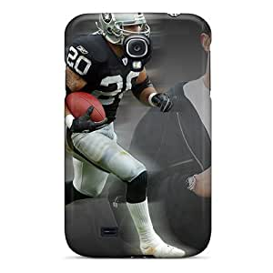 Hot Oakland Raiders First Grade Tpu Phone Case For Galaxy S4 Case Cover