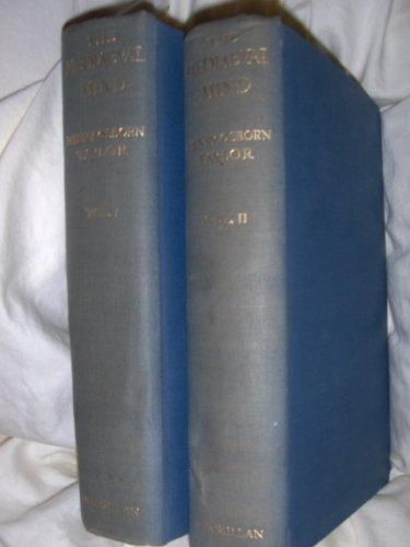 The Mediaeval Mind - Fourth (4th) American Edition - 2 (Two) Volume Set