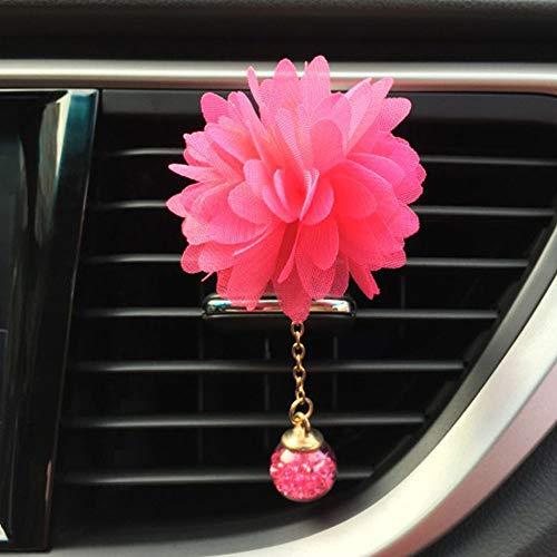 Clip de perfumado para coche, Purificador de ventilación de aire de coche inoxidable Aceite esencial Difusor para...