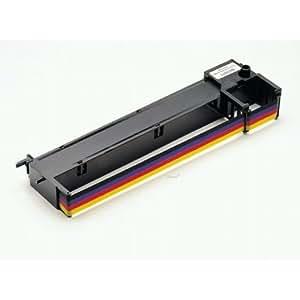 Epson Cartucho de color SIDM para LQ-300/300+II (C13S015077) cinta para impresora - Cinta de impresoras matriciales (LQ300/LQ300+, Negro, Cian, Magenta, Amarillo, Matriz de punto, 24 Pin, 200 g, 323x86x44)