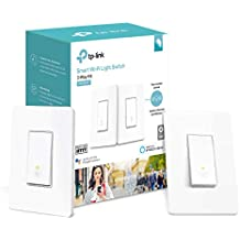 Kasa Smart Wi-Fi Light Switch, 3-Way Kit by TP-Link - Control Lighting from Anywhere, Easy In-Wall Install (3-Way Only), No Hub Required, Works with Alexa and Google Assistant (HS210 KIT) (Renewed)