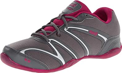 RYKA Women's Rythmic Shoe,Dark Grey/Dark Pink/Grey,5 M US