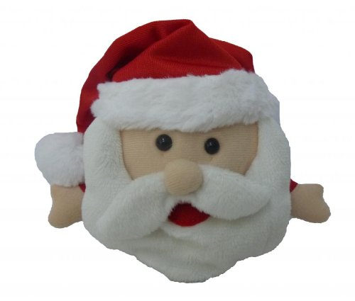 Singing Santa Claus Polyester Musical Animatronic Plush Toy Christmas Collectible