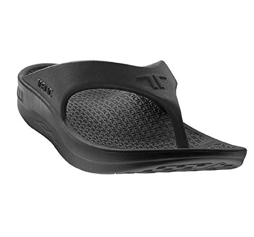 Telic Unisex VOTED BEST COMFORT SHOE Arch Support Recovery Flipflop Sandal +BONUS Pumice Stone $49 Value