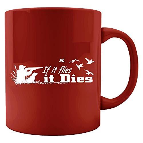 If It Flies, It Dies - Colored Mug