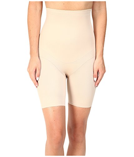 Miraclesuit Shapewear Women's Flex Fit Hi-Waist Thigh Slimmer Nude X-Large ()