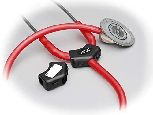 ADC Adscope 603 Clinician Stethoscope with Tunable AFD Technology, 31 inch Length, Black
