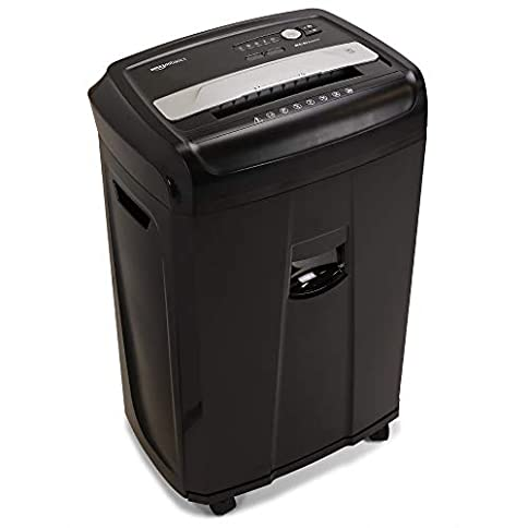 AmazonBasics 17-Sheet High-Security Micro-Cut Paper, CD, and Credit Card Shredder - 41RfrhnibmL - AmazonBasics 17-Sheet High-Security Micro-Cut Paper, CD, and Credit Card Shredder