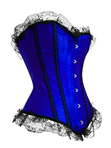 Pinkyee - Corsé - para mujer Azul