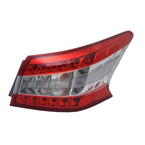 - TYC 11-6549-00-1 Nissan Sentra Right Replacement Tail Lamp