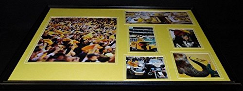 - Myron Cope Steelers Terrible Towel Framed 18x24 Photo Display Sidney Crosby