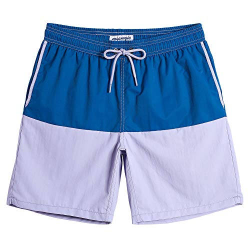 MaaMgic Mens Boys Short Swim Trunks 7 Inches Mens Bathing Suits Slim Fit Swim Shorts Swimsuits for Men