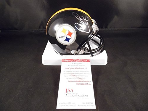 Greenwood Steelers Lc (Lc Greenwood Signed Autograph Mini Helmet Pittsburgh Steelers JSA Certified Certified)