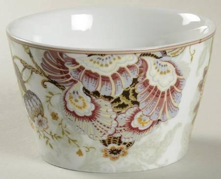 222 Fifth Gabrielle Cream Round Dessert/appetizer Bowls - 4