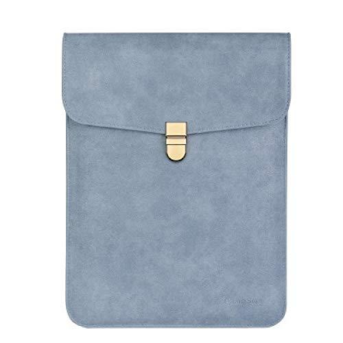 - Pechalar - Waterproof Matte PU Leather Slim Sleeve Laptop Bag 15.6 14 inch Cover
