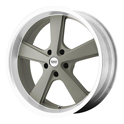 American Racing Hot Rod Nova Mag Gray Wheel with Machined (18x9
