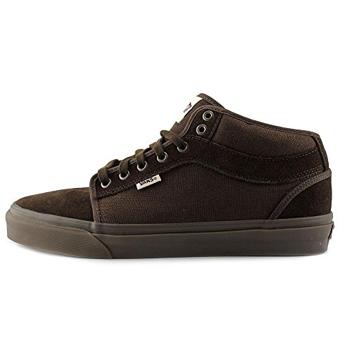 Zapatillas De Deporte Vans Chukka Midtop Marrón / Gum Para Hombre, Tamaño 7