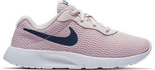 - NIKE Girl's Tanjun Shoe Barely Rose/Navy/White Size 12 Kids US