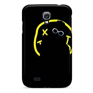 Samsung Galaxy S4 UOZ1879WSXY Custom Trendy Nirvana Band Skin Scratch Resistant Cell-phone Hard Cover -DannyLCHEUNG