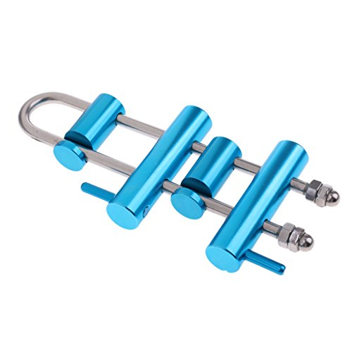 Homyl Rappel Rack Descender 4 Bar Twisted Rack Outdoor Rock Climbing Rescue Aerial Working ()