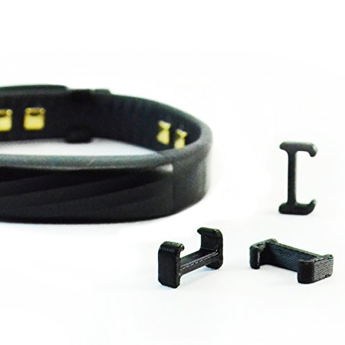 Jawbone Activity Clip Cover Replacement Fastener Buckle Clasp for 2015 Jawbone UP2 UP3 UP4 Fitness Wrist Strap Activity Tracker 3PC Black