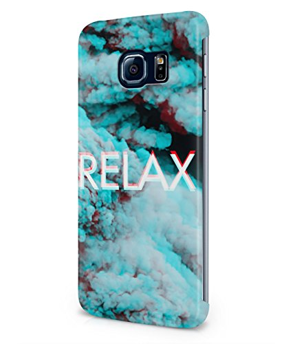 Relax Trippy Clouds Tumblr Acid High Sky Plastic Snap-On Case Cover Shell For Samsung Galaxy S6 EDGE