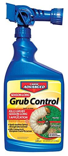 Bayer Advanced 700840 Season Long Grub Control Ready-To-Spray, 32-Ounce