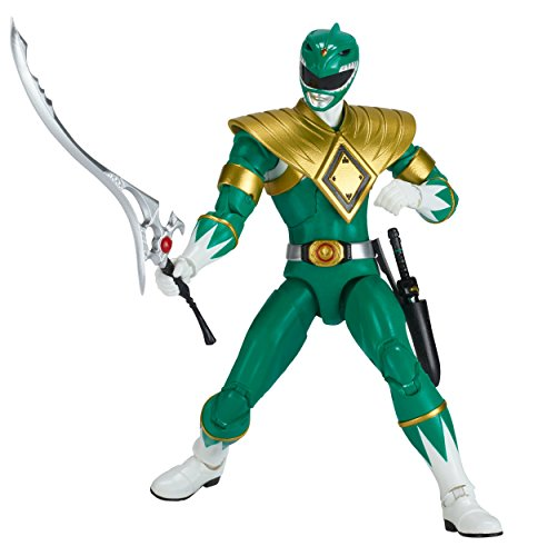 Power Rangers Legacy ‑ 6.5-Inch Mighty Morphin Green Ranger Legacy Figure (Mighty Morphin Power Ranger Helmet)