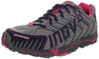Inov-8 Women's Terrafly 287 GTX Trail Running Shoe,Grey/Pink,6.5 M US