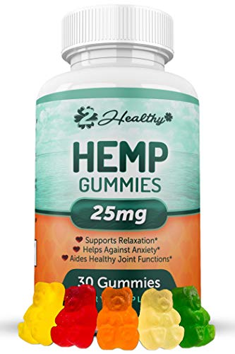 Hemp Gummies for Pain & Anxiety Relief - Hemp Gummy Made in USA - 750MG Total, 25MG Each Candy Gummy - Better Sleep, Calm Mood, Stress, Pain & Anxiety Relief - Zero Oil THC CBD Cannabidiol Pill ...