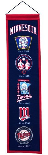 Minnesota Twins Banner (Winning Streak MLB Minnesota Twins Heritage Banner)