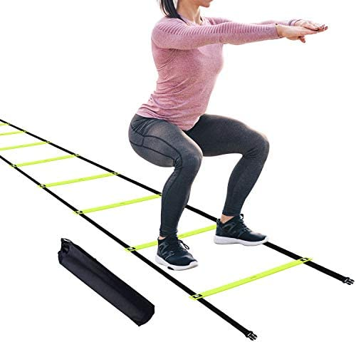 12 Fixed Rungs Agility Ladder