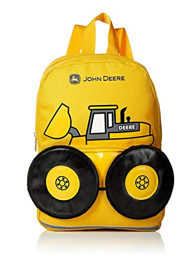 John Deere Boys' Tractor Toddler Backpack (13
