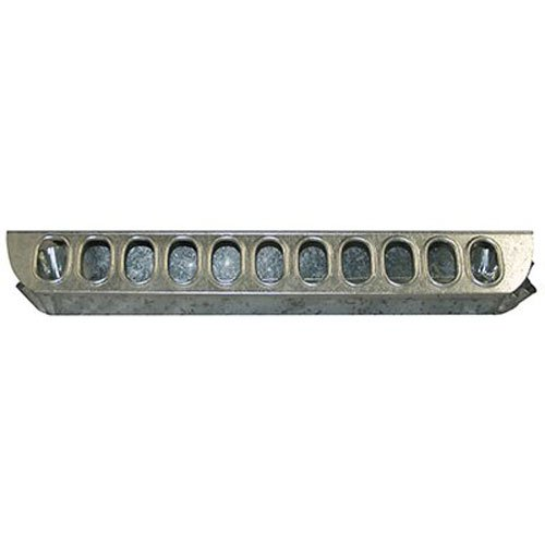 Top Poultry Slide - Harris Farms Galvanized Slide-Top Chick Feeder, 18-Inch