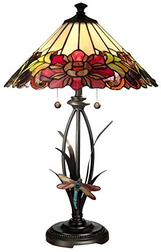 Dale Tiffany Dragonfly Lamp - 5