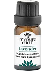 My Pure Earth Essential Oil, 100% Pure, Sustainably Sourced, Organically Crafted, Aromatherapy, Lavender, 10 Milliliter
