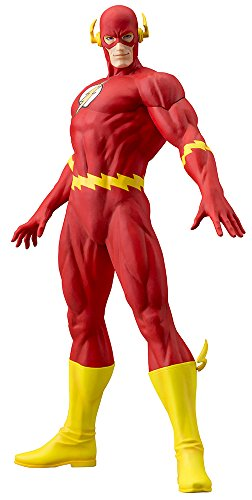 Kotobukiya DC Comics ArtFX 1/6 scale Flash Statue (Kotobukiya Dc Comics Superman For Tomorrow Artfx Statue)