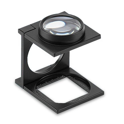 PEAK TS1209SA3 Aluminum Single Lens Linen Tester, 9X Magnification, 0.5