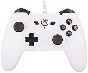 AmazonBasics Xbox One Wired Controller (White)
