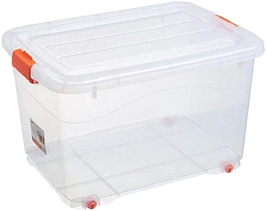 HBWJSH Caja De Almacenamiento Caja De Almacenamiento De Plástico ...