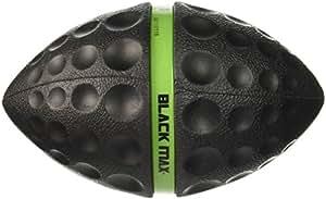 Diggin Black Max Football Toy, Black and Green